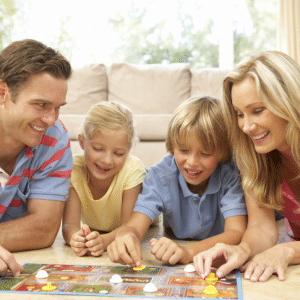 Try out new board game instead of house cleaning