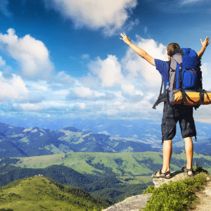travel instead of cleaning home